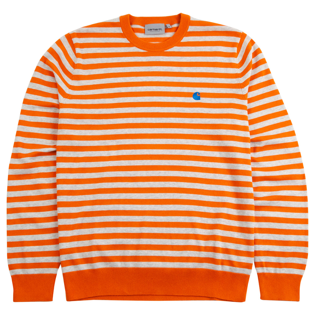 Carhartt WIP Scotty Sweater in Clockwork / Ash