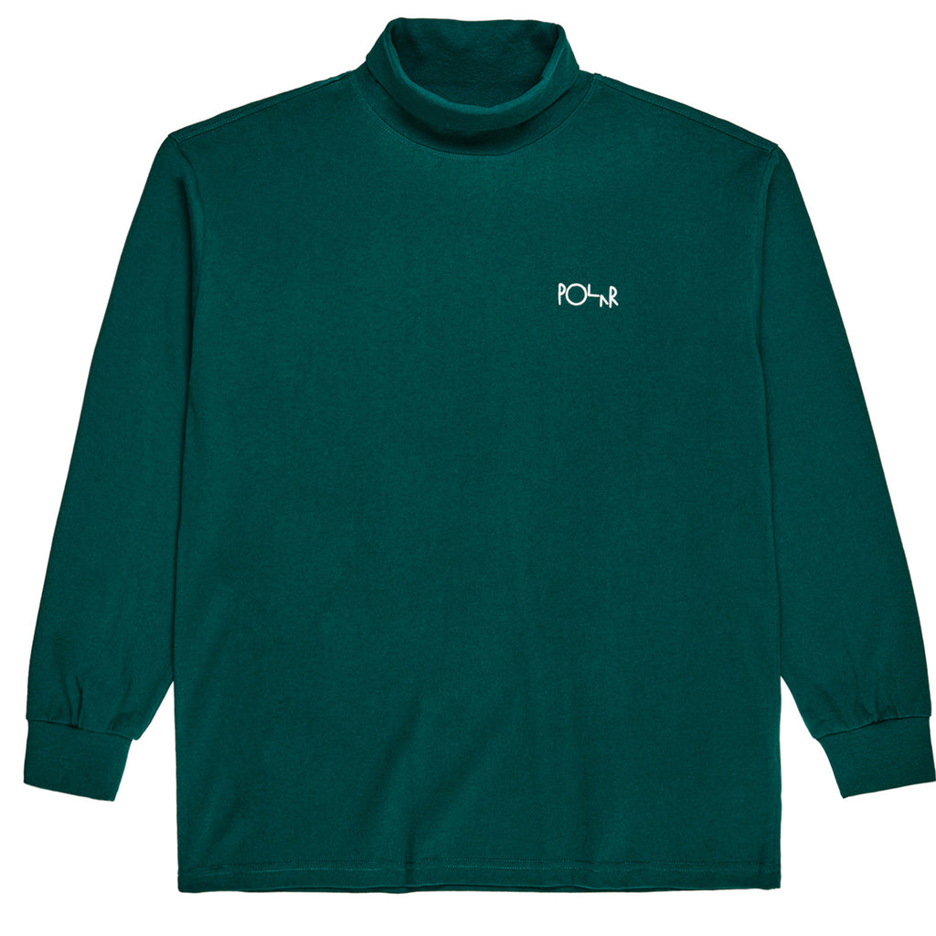 Polar Skate Co Script Turtleneck in Dark Green