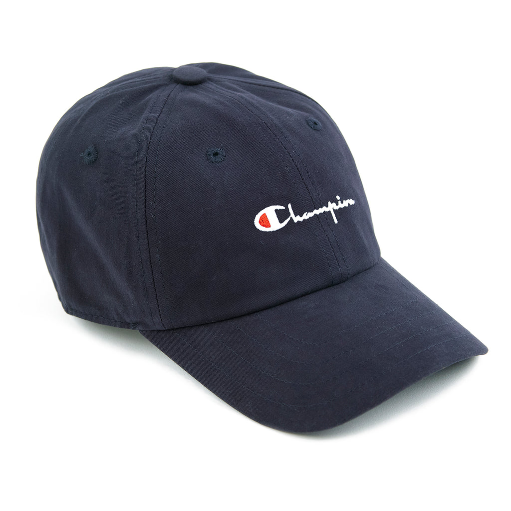 Champion Reverse Weave Baseball Cap in Black