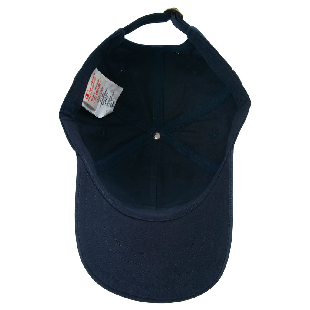 Champion Reverse Weave Baseball Cap in Black - Inside