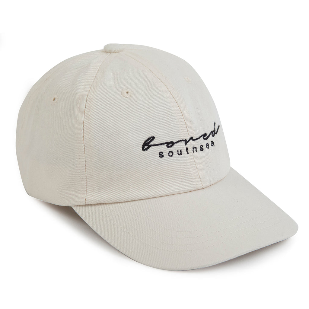 Bored of Southsea Script Cap in Beige