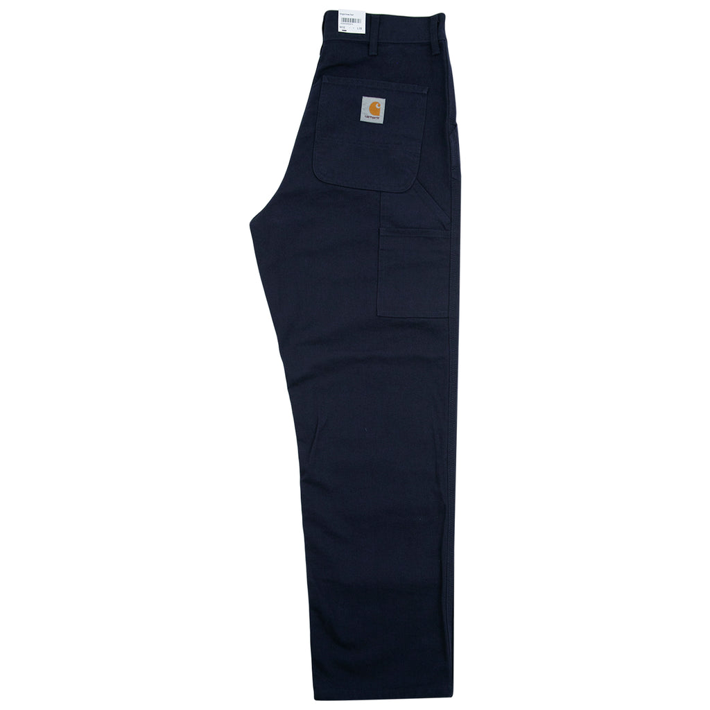 Carhartt WIP Single Knee Pant in Dark Navy - Leg