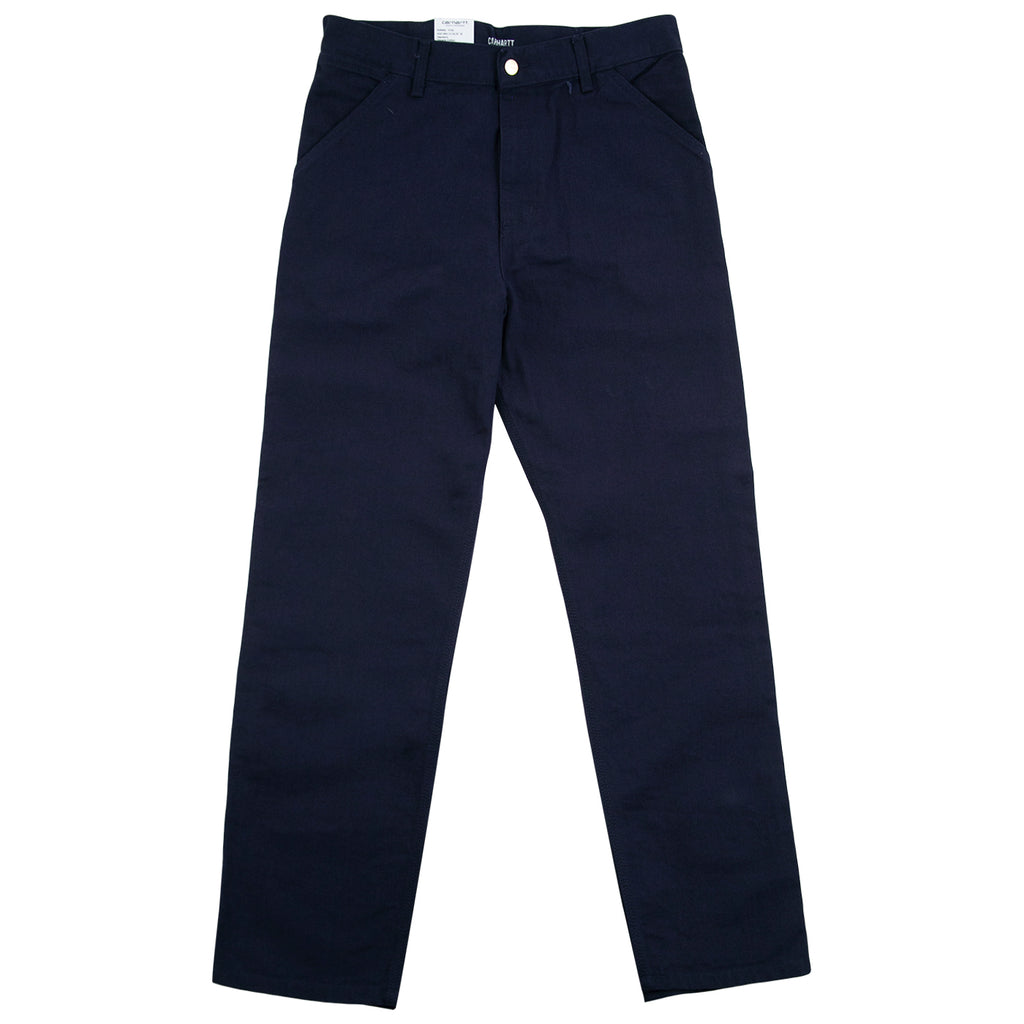 Carhartt WIP Single Knee Pant in Dark Navy - Open