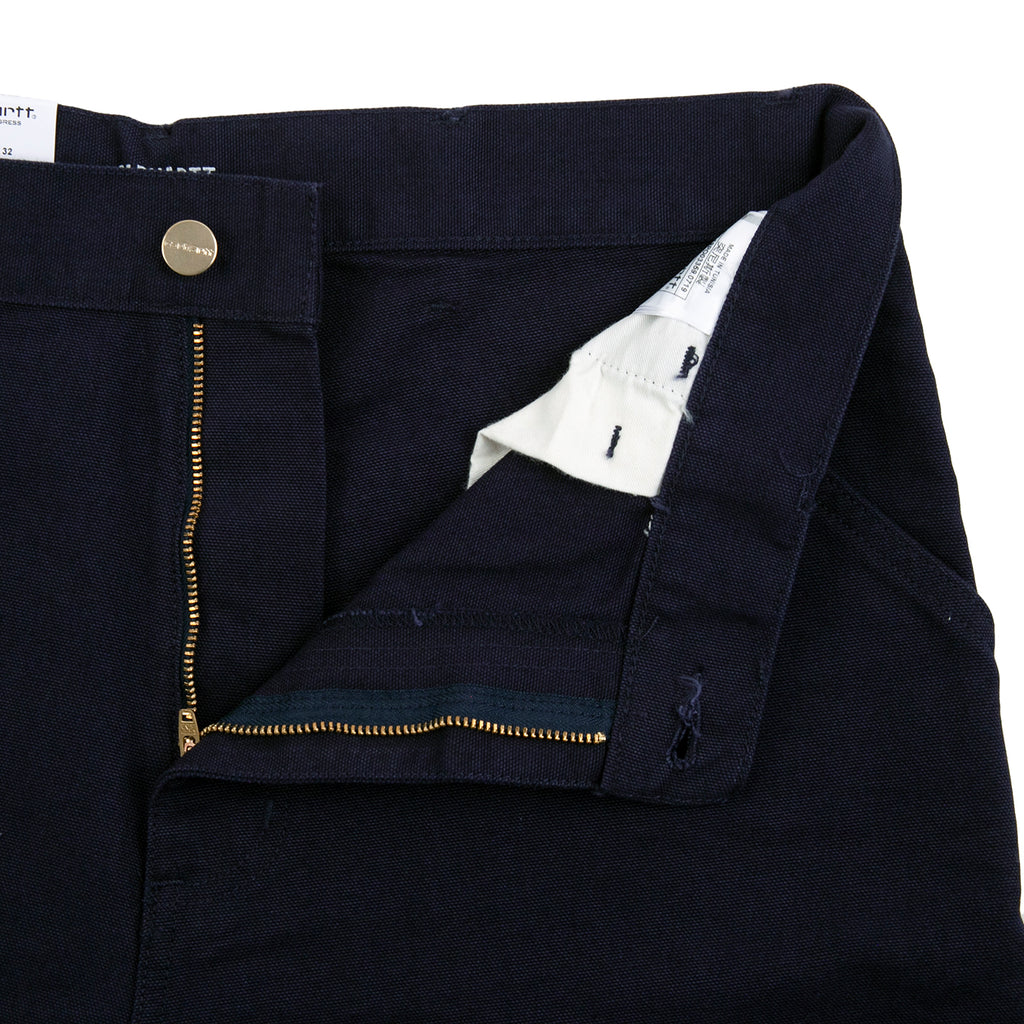 Carhartt WIP Single Knee Pant in Dark Navy - Unzipped