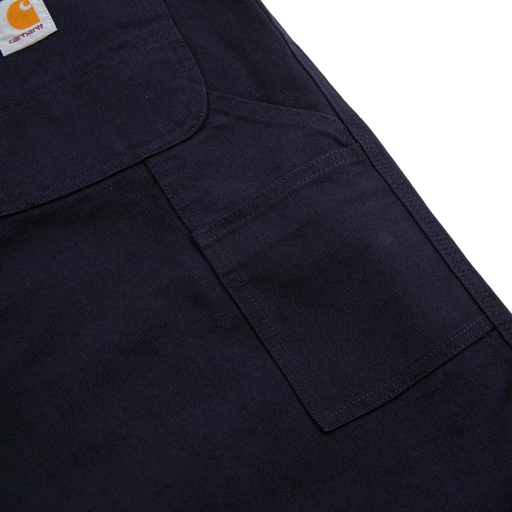 Carhartt WIP Single Knee Pant in Dark Navy - Pocket 2