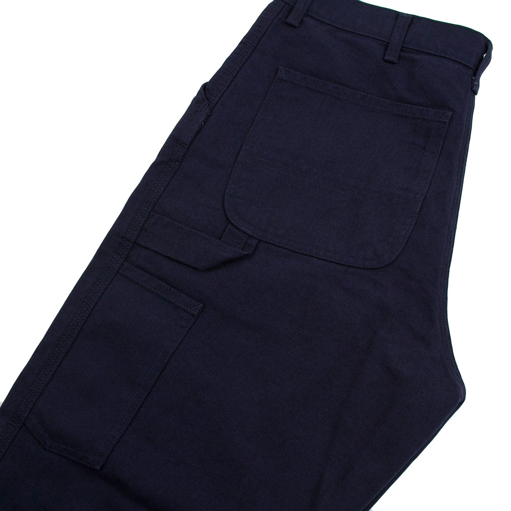 Carhartt WIP Single Knee Pant in Dark Navy - Detail