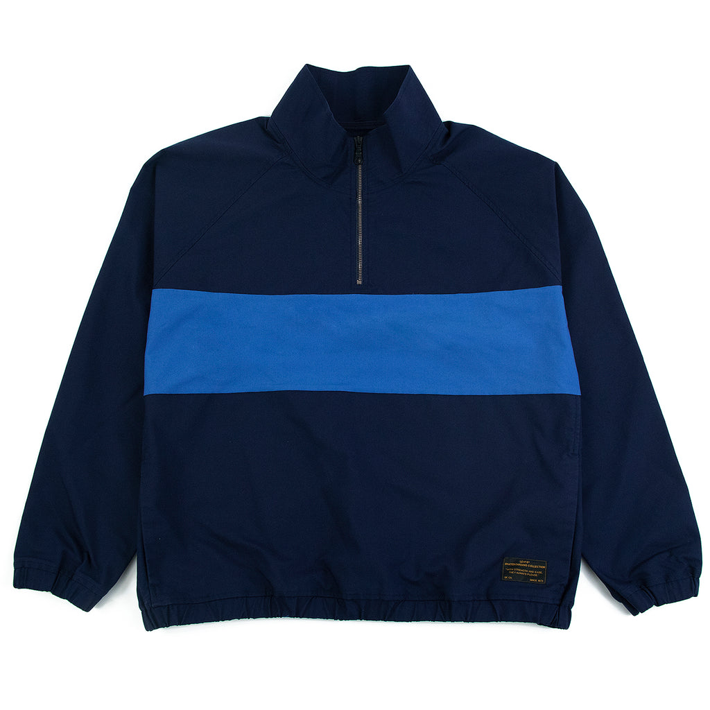 Levis Skateboarding Skate Quarter Zip in Navy Blazer