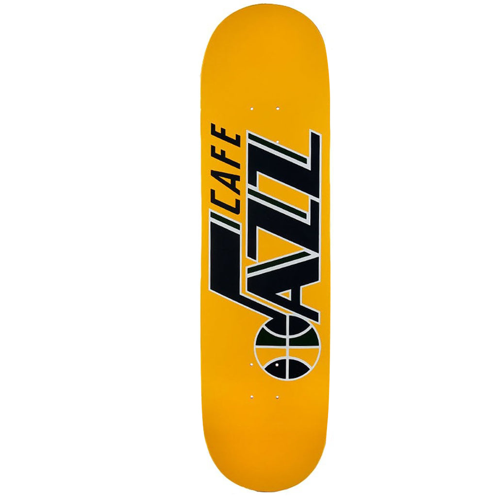 Skateboard Cafe Gold Jazz Skateboard Deck in 8.125""