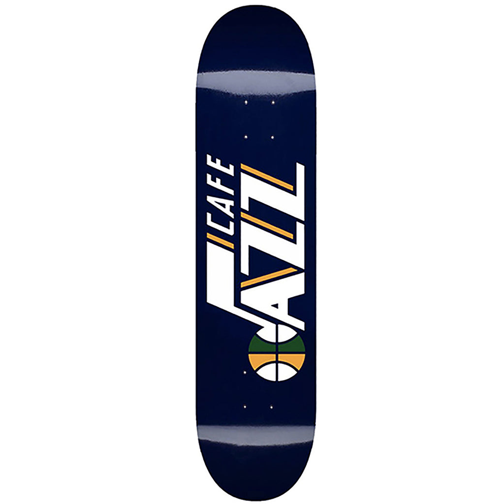 Skateboard Cafe Navy Jazz Skateboard Deck in 8""