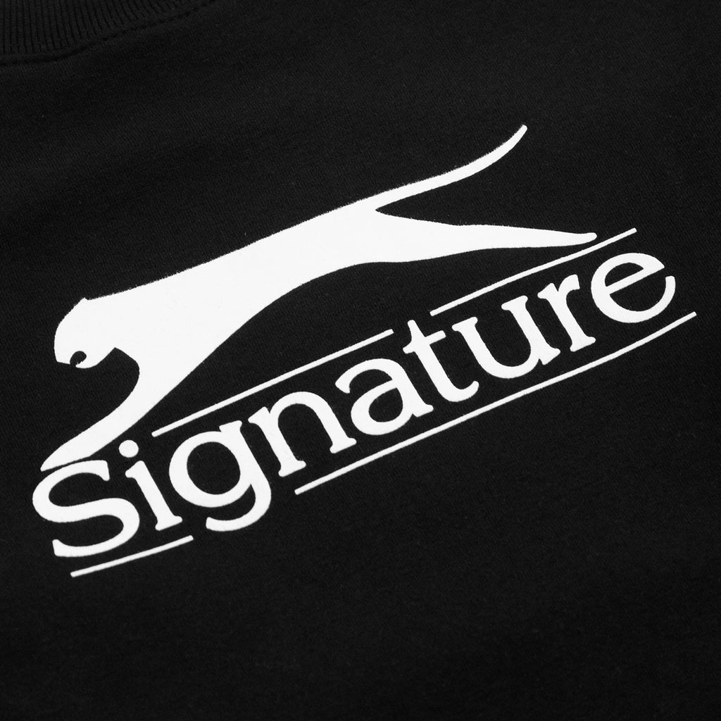 Signature Clothing Panther Sweatshirt in Black - Print