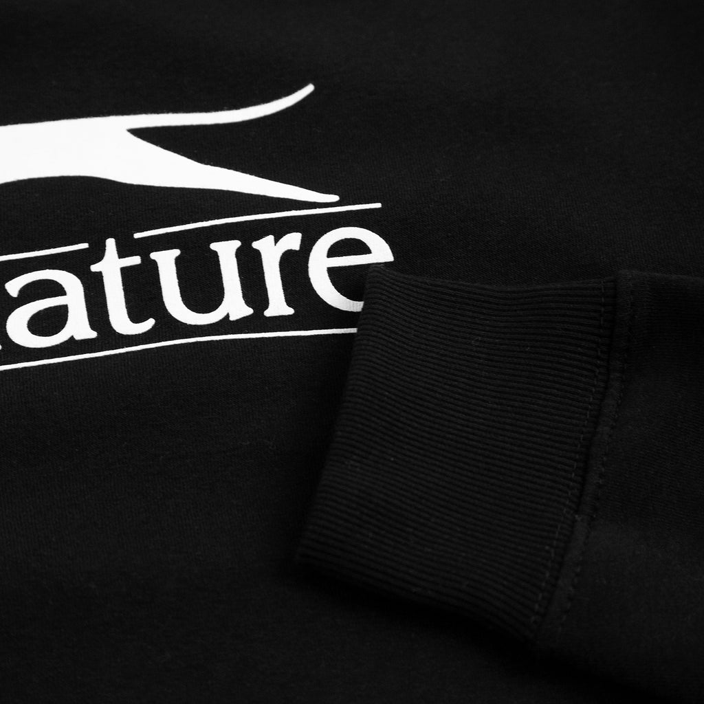 Signature Clothing Panther Sweatshirt in Black - Cuff