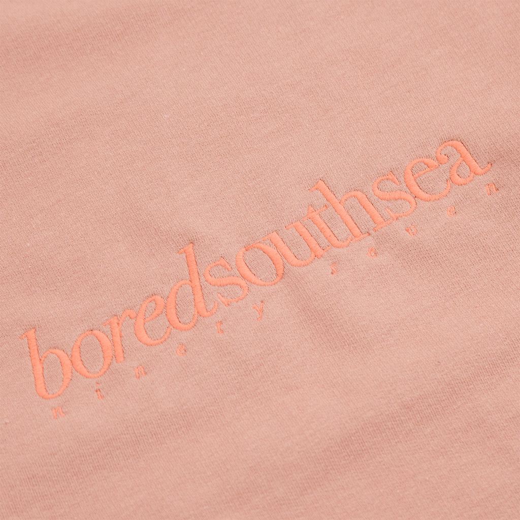 Bored of Southsea Hammer Sweatshirt in Dusty Pink / Pink - Embroidery