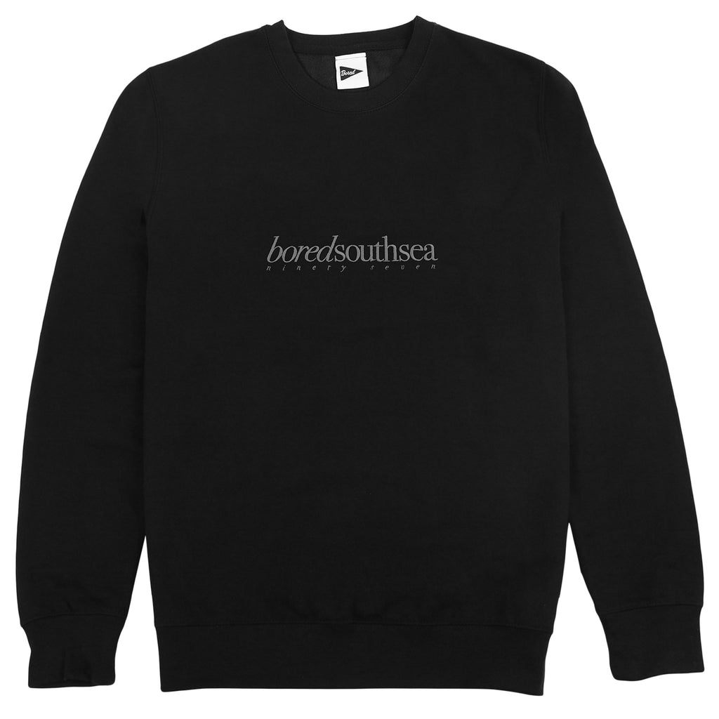 Bored of Southsea Hammer Sweatshirt in Black / Grey