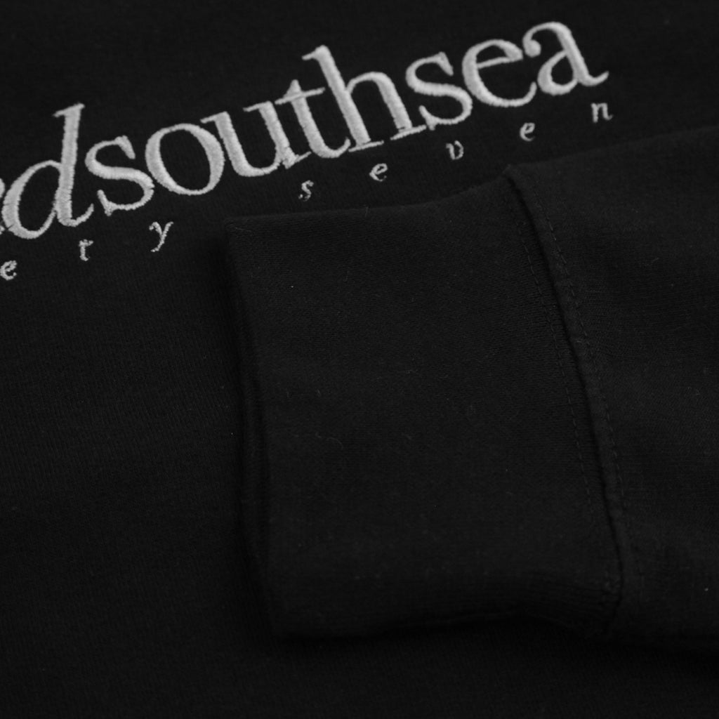 Bored of Southsea Hammer Sweatshirt in Black / Grey - Embroidery 2