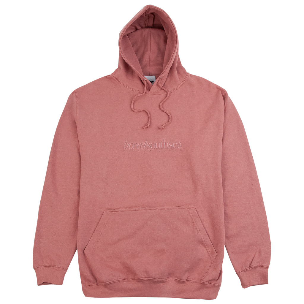 Bored of Southsea Hammer Hoodie in Dusty Pink / Dusty Pink