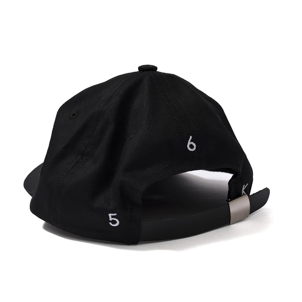 Bronze 56k Snake Skin B Hat in Black - Back
