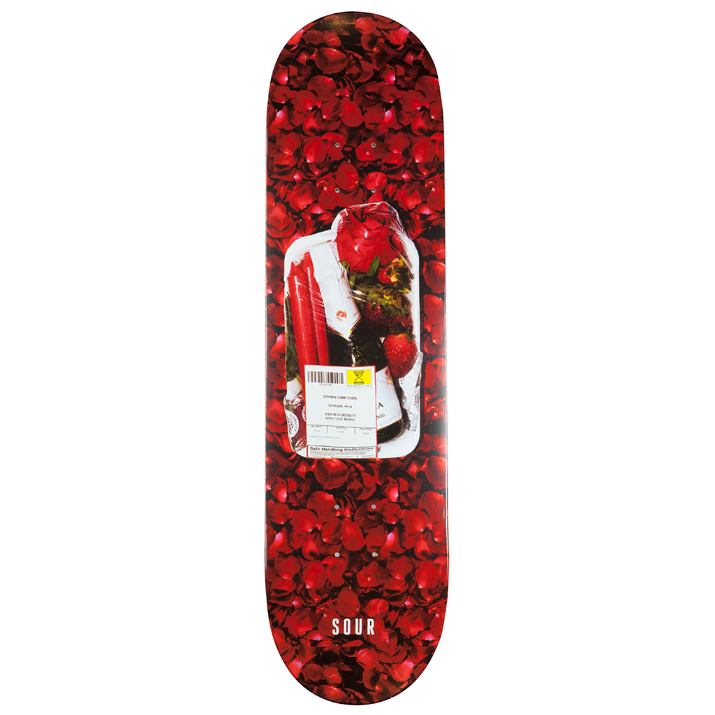 Sour Skateboards Simon Sensual Mix Skateboard Deck in 8.25""
