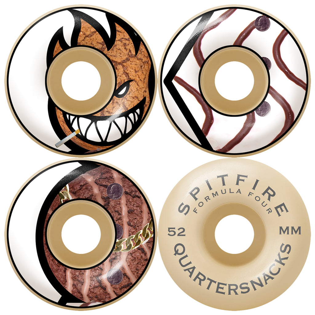 Spitfire x Quartersnacks Formula Four F4 Quarter Classics Wheels