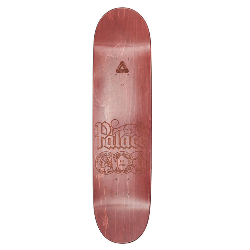 "Palace Stein Skateboard Deck in 8.1"" - Top"