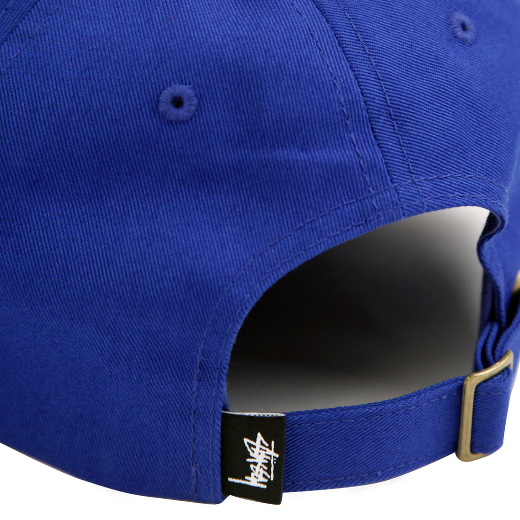 Stussy Stock Low Pro Cap in Royal - Back