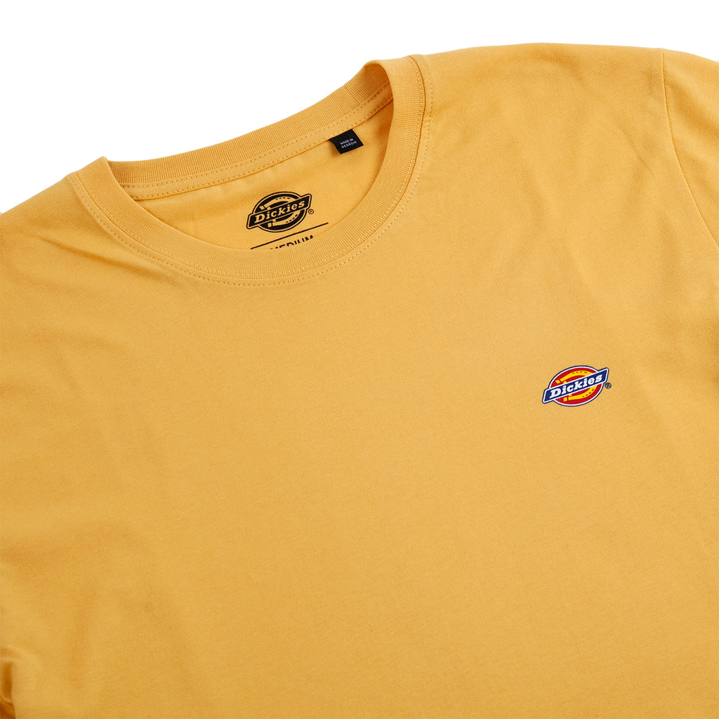 Dickies Stockdale T Shirt in Apricot - Collar