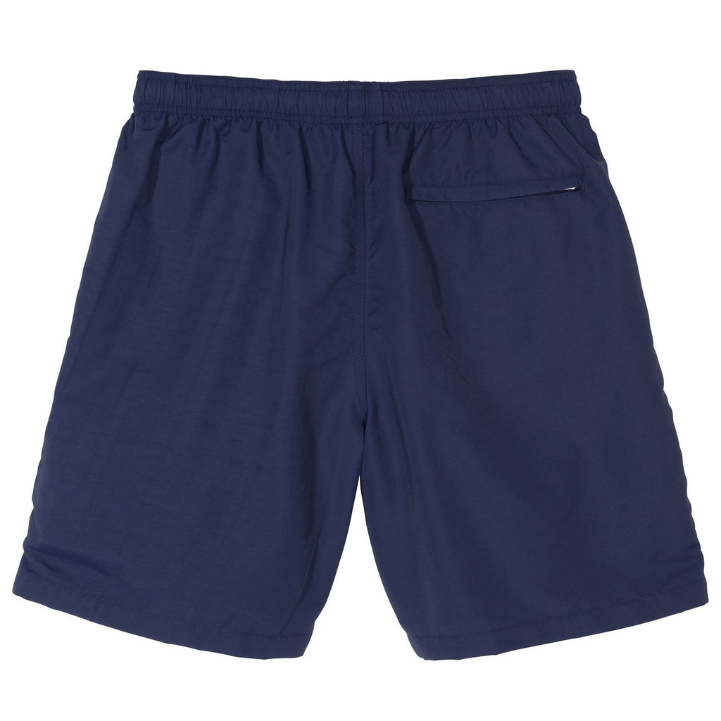 Stussy Stock Water Short in Navy - Back
