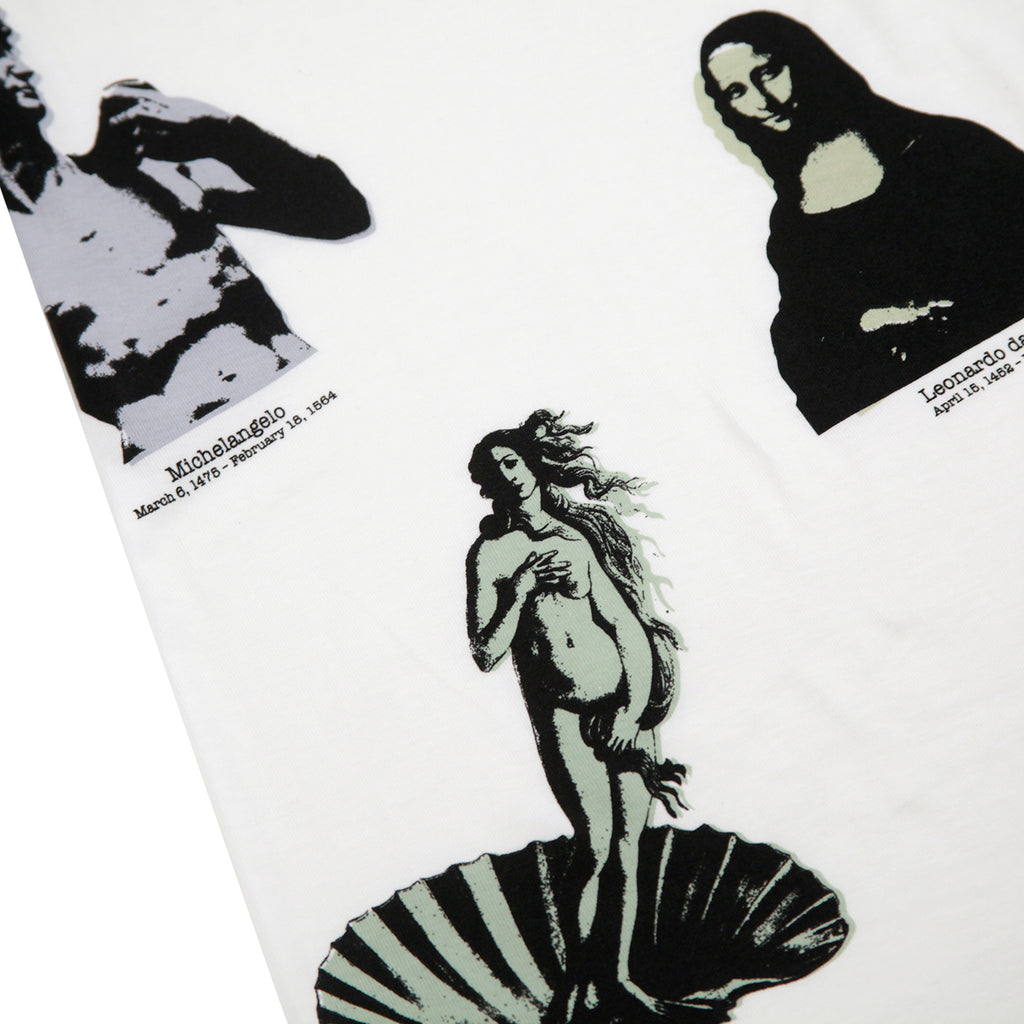 Stussy Gallery T Shirt in White - Gallery 1