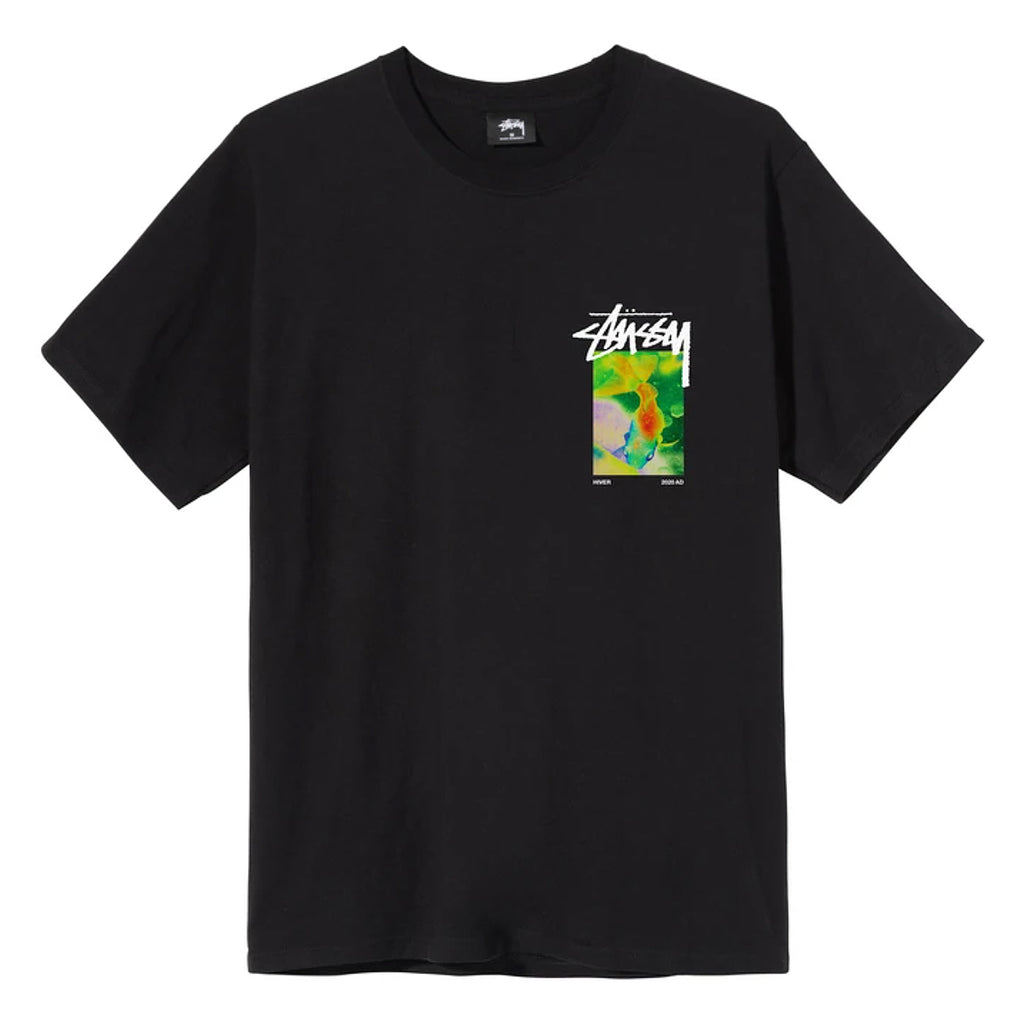 Stussy Stonehenge T Shirt in Black - Front