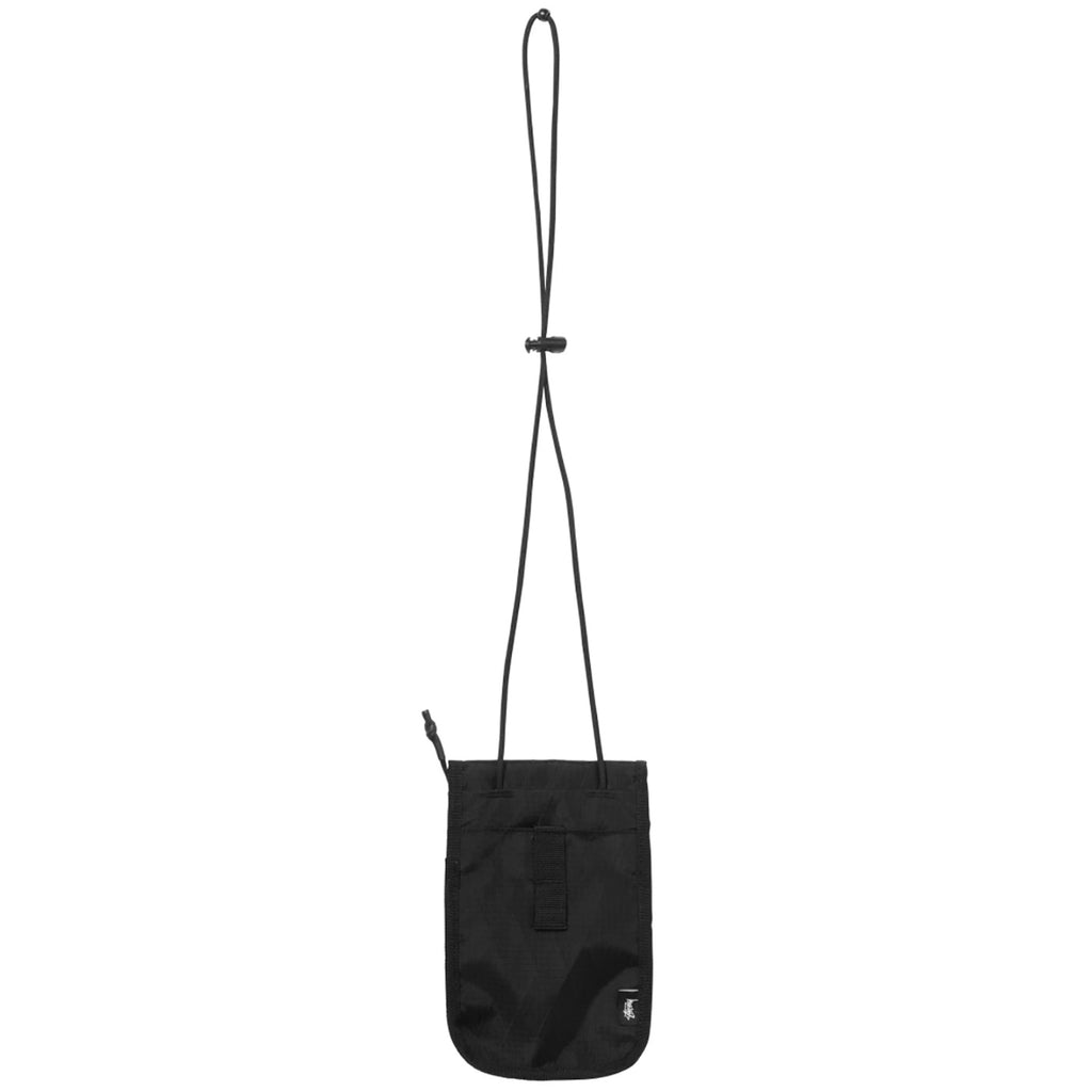 Stussy Travel Pouch in Black - Back