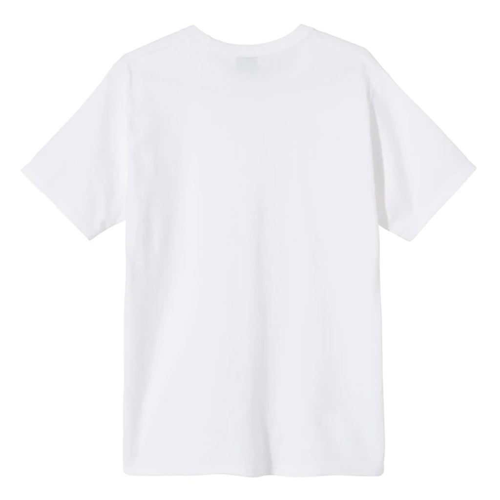 Stussy World T Shirt in White - Back
