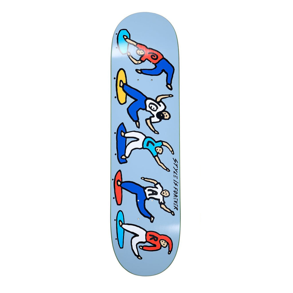 Polar Skate Co Team Style is Forever Skateboard Deck in 8.375""