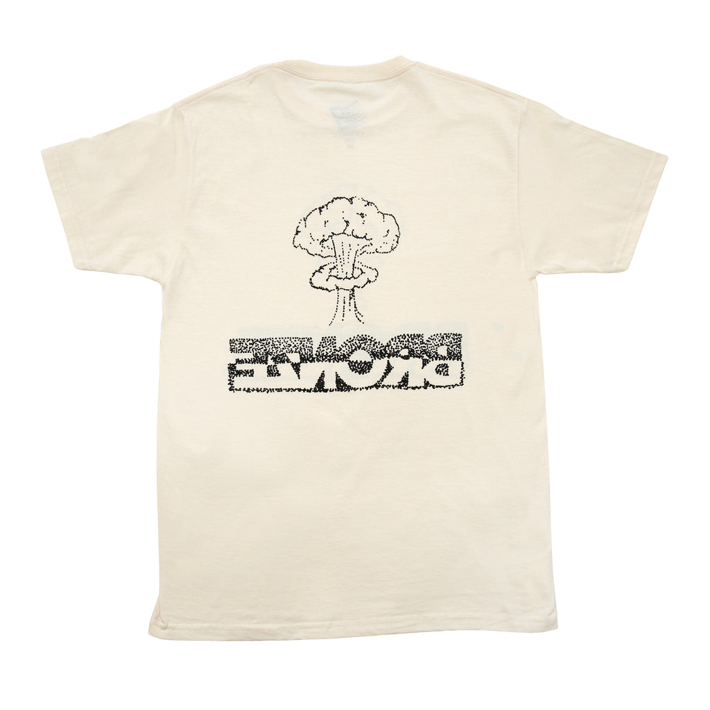 Bronze 56k Atomic T Shirt in Cream - Back