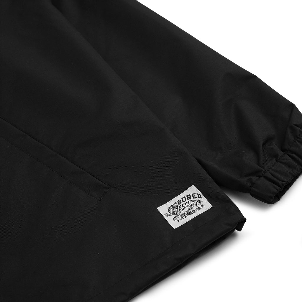 Bored of Southsea Daily Use Coaches Jacket in Black - Label