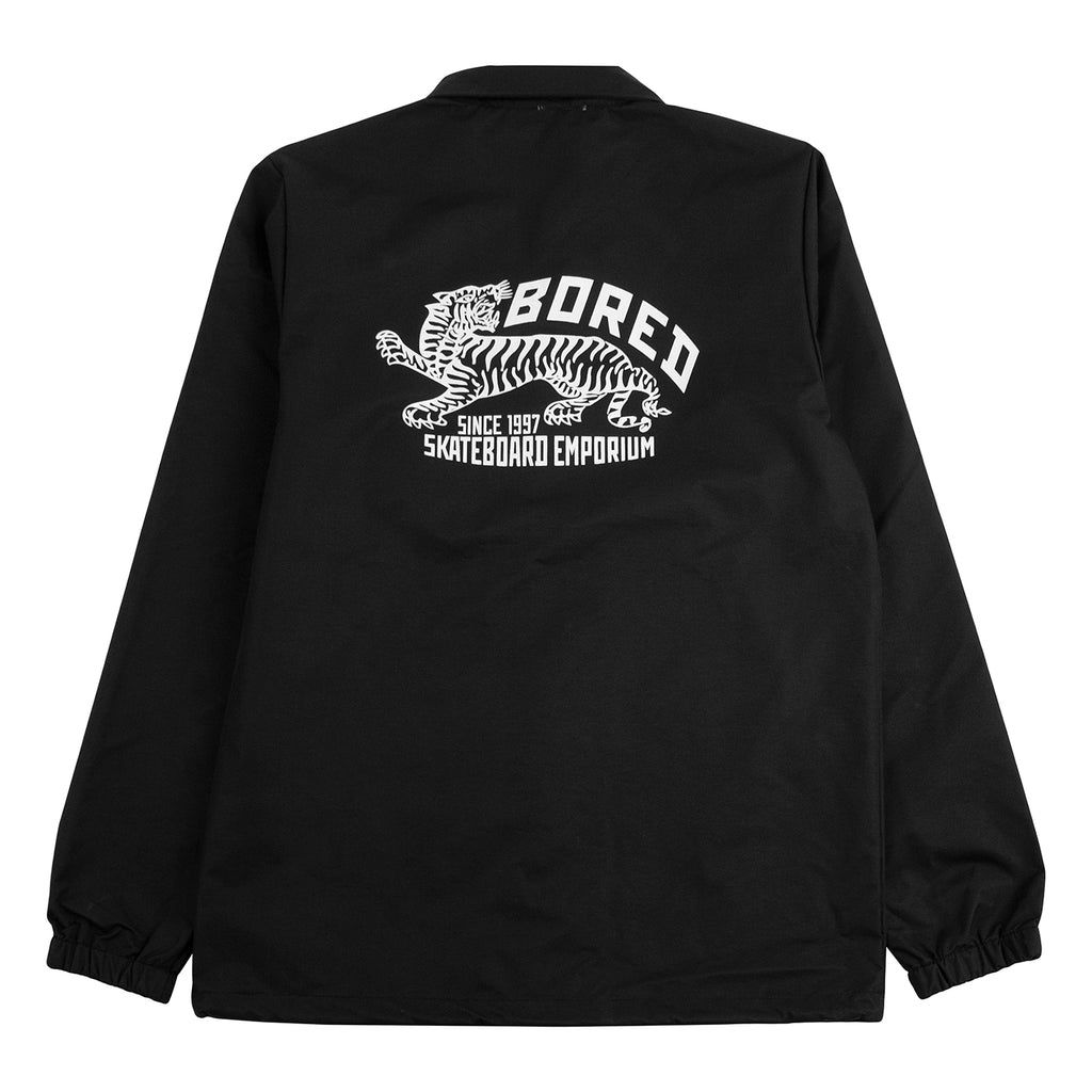 Bored of Southsea Daily Use Coaches Jacket in Black