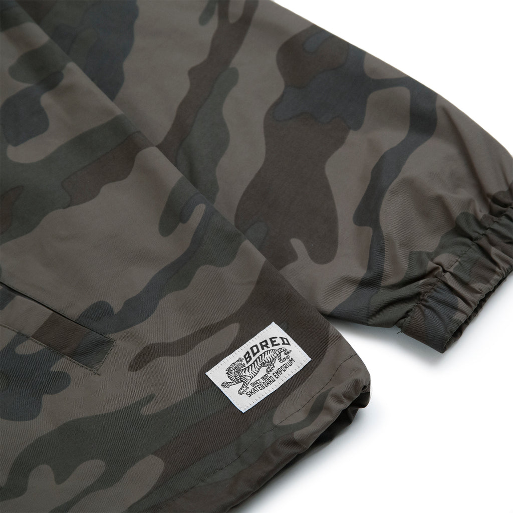 Bored of Southsea Daily Use Coaches Jacket in Camo - Label