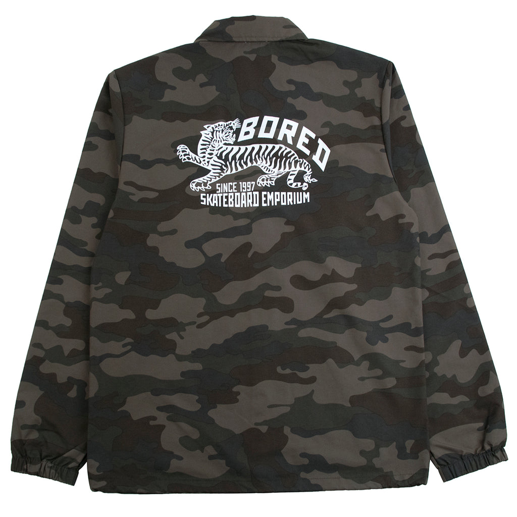 Bored of Southsea Daily Use Coaches Jacket in Camo