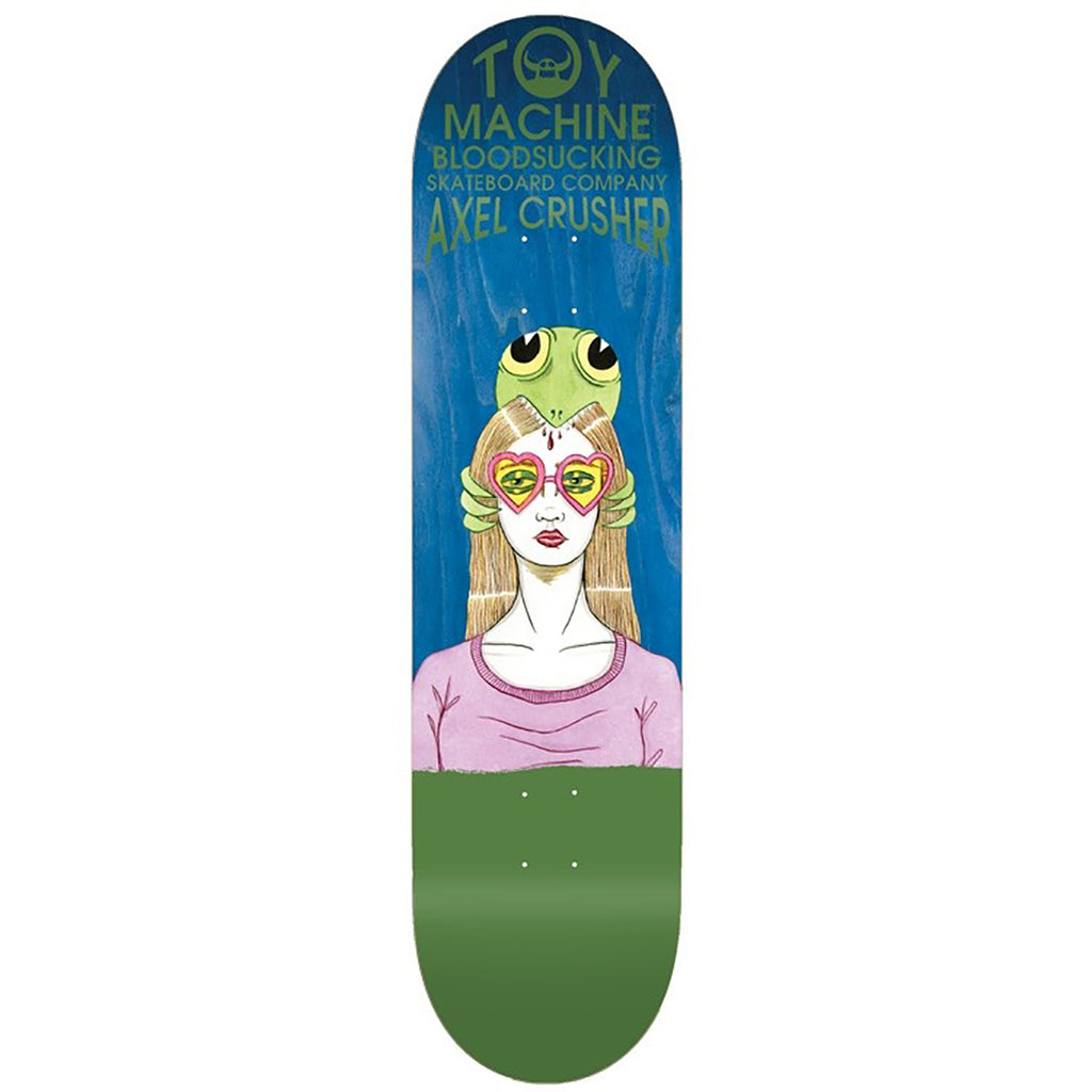 Toy Machine Axel Bloodsucking Skateboard Deck in 8.38""
