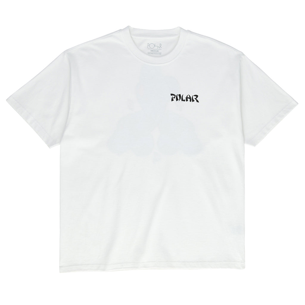 Polar Skate Co Torso T Shirt in White - Front
