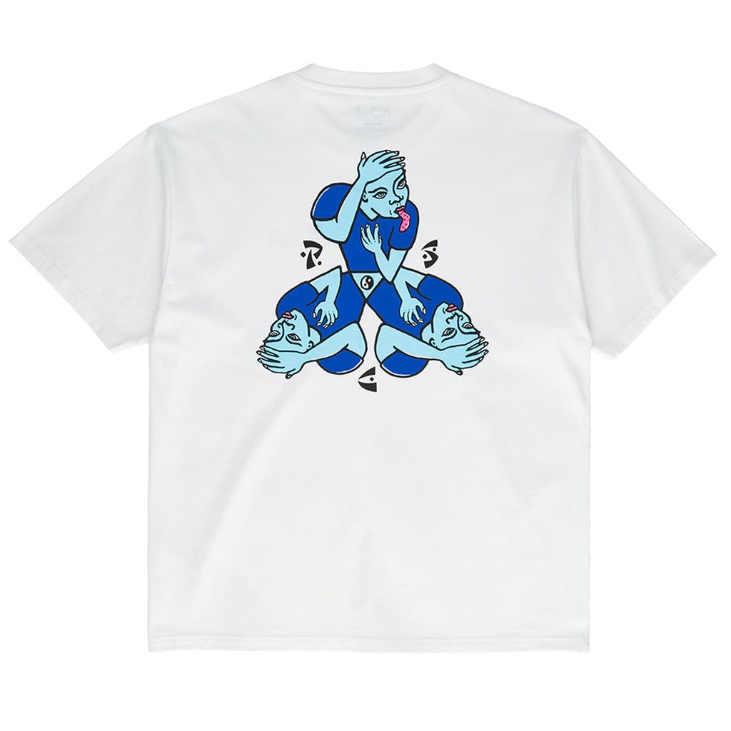 Polar Skate Co Torso T Shirt in White