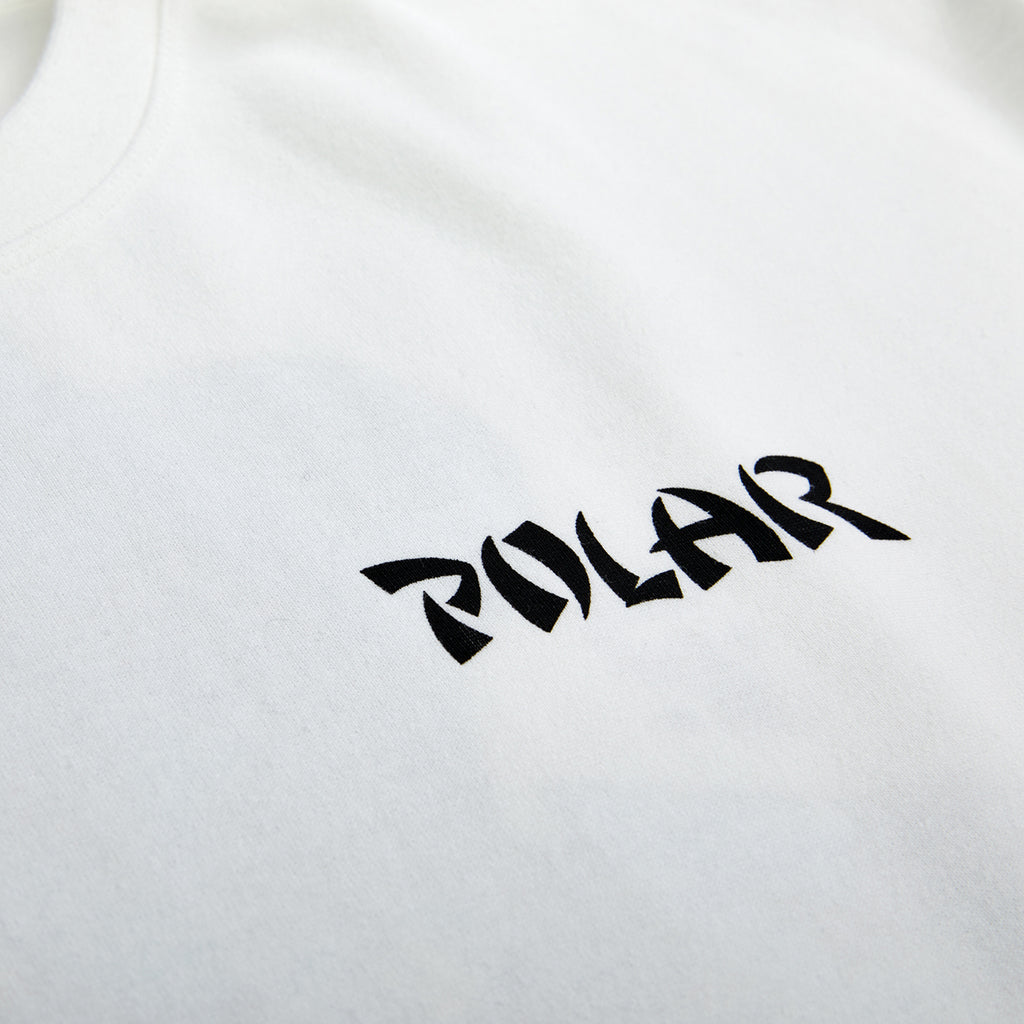 Polar Skate Co Torso T Shirt in White - Front Print