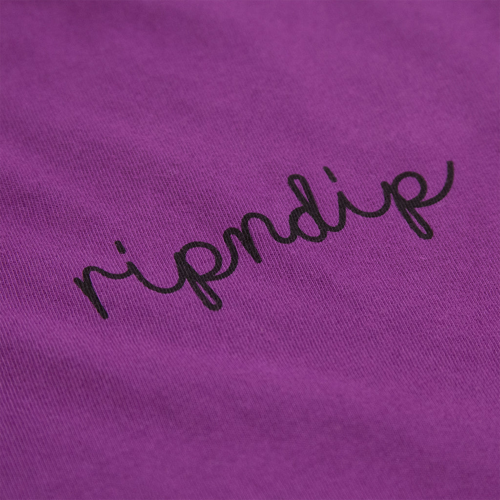 RIPNDIP Tangled T Shirt - Purple