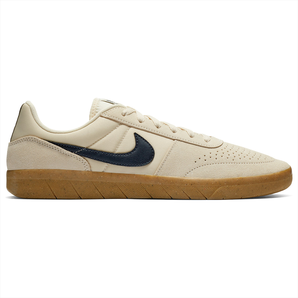 Nike SB Team Classic Shoes in Light Cream / Obsidian - Gum Yellow