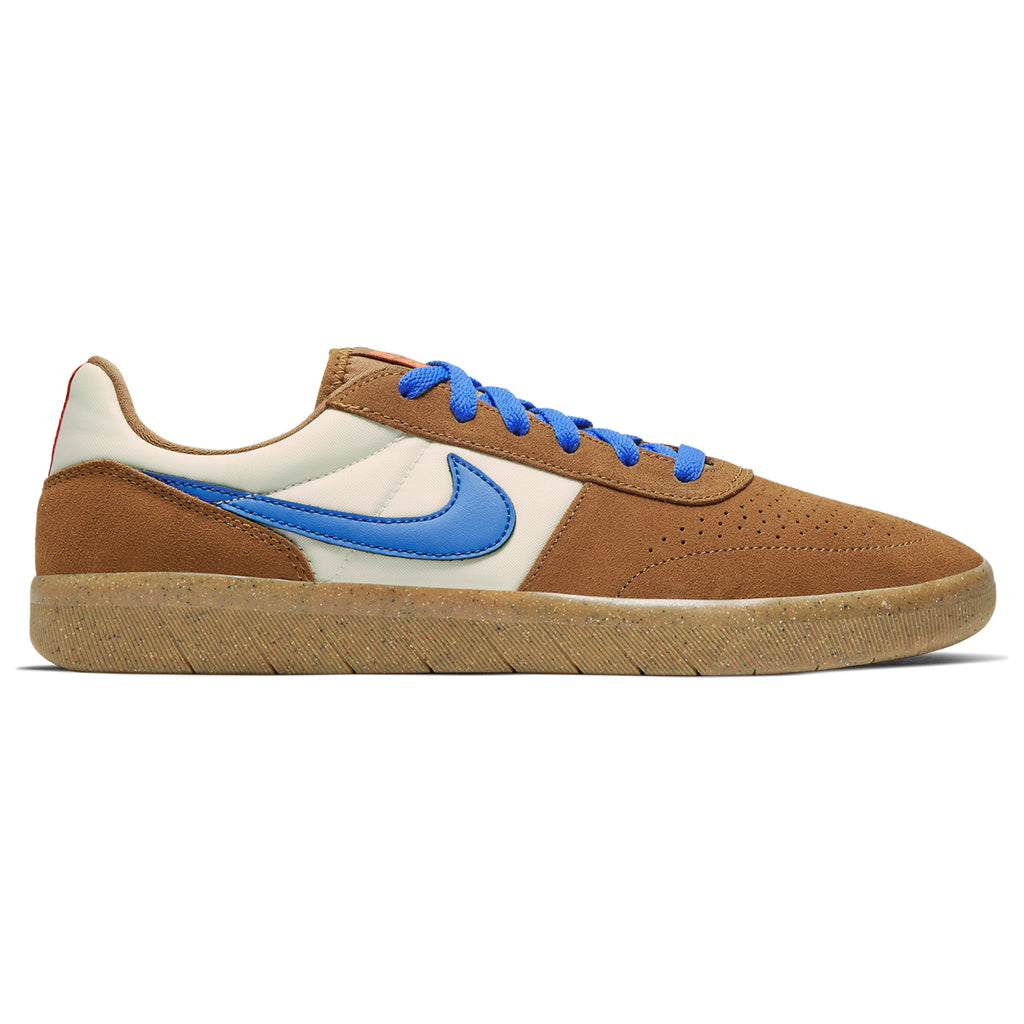Nike SB Team Classic Shoes in Lt British Tan / Pacific Blue - Pale Ivory