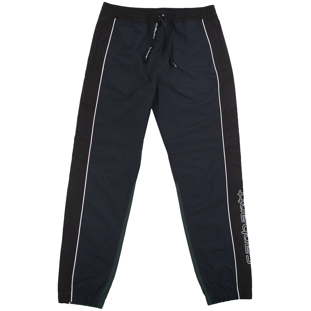 Carhartt Terrace Pant in Dark Navy / Black / Bottle Green