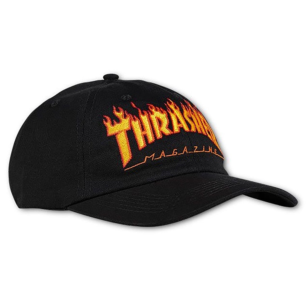 Thrasher Flame Old Timer Hat in Black