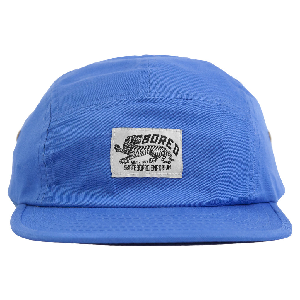 Bored of Southsea Daily Use 5 Panel Cap in Blue - Front