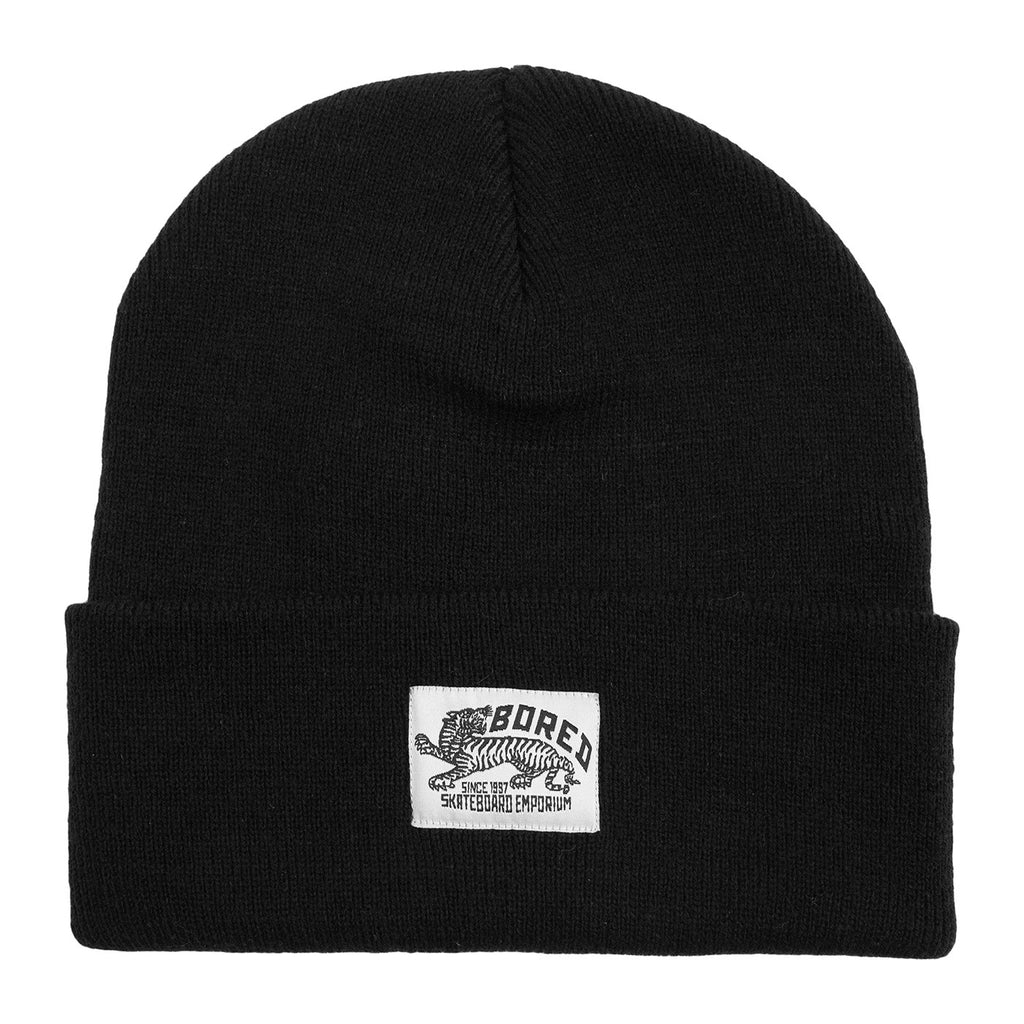 Bored of Southsea Daily Use Beanie in Black