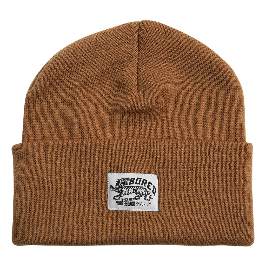 Bored of Southsea Daily Use Beanie in Caramel