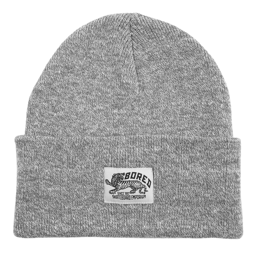 Bored of Southsea Daily Use Beanie in Heather Grey