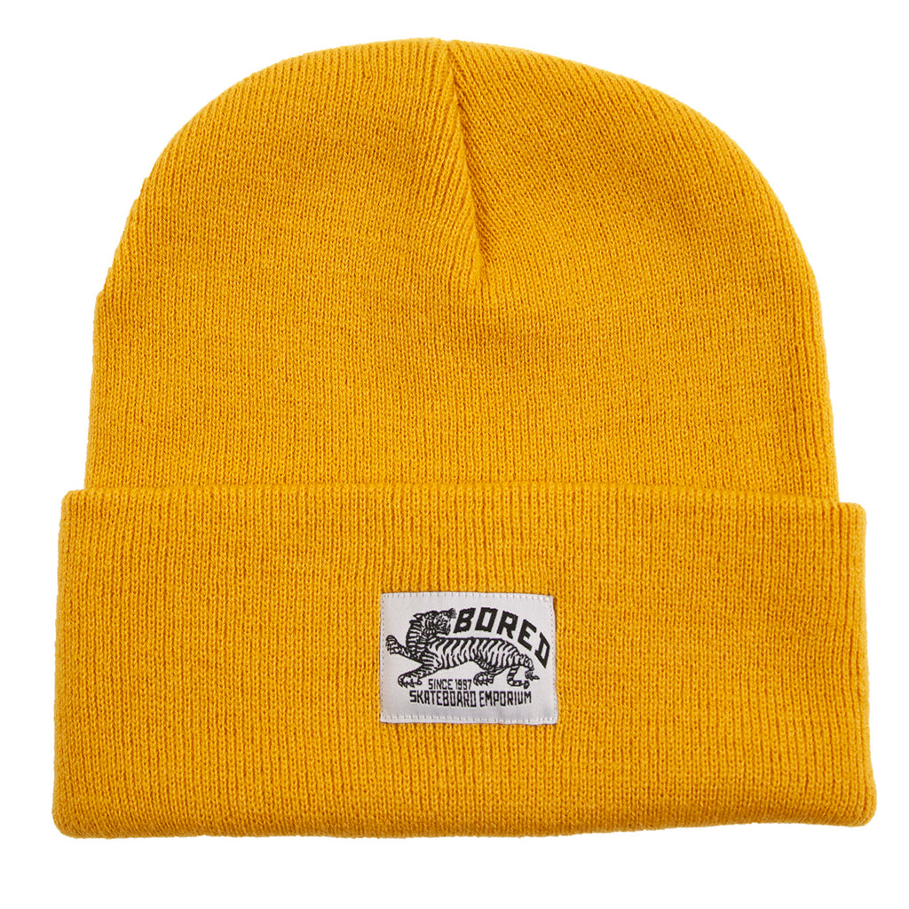 Bored of Southsea Daily Use Beanie in Mustard